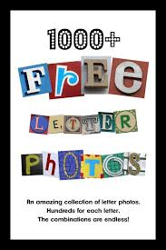 Freebie Friday Thousands Of Free Letter Photos Freebies