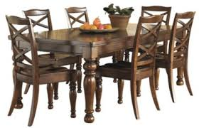 porter dining room table set. ashley porter 7-piece dining set room table t