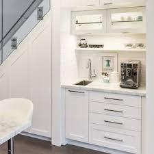 contemporary kitchen design. Small Contemporary Open Concept Kitchen Designs - Example Of A Trendy Single-wall Dark Design