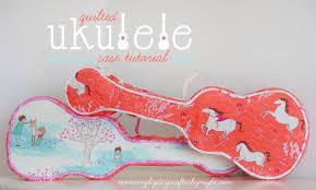 quilted ukulele case tutorial