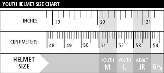 Child Motorcycle Helmet Size Chart Dirt Bike Helmet Online Charts Collection