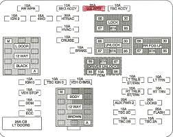 2005 cadillac escalade fuse box diagramvehiclepad 99 cadillac escalade fuse box diagram 99 wiring diagrams