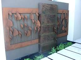 garden metal wall art outdoor metal wall art decor and sculptures outdoor metal wall art decor