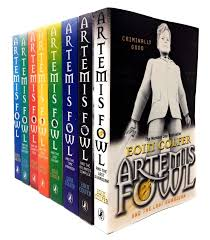artemis fowl collection 8 books set artemis fowl time paradox atlantis plex opal deception arctic incident eternity code lost colony the