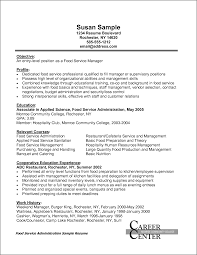 Awesome Collection Of Ingenious Inspiration Catering Resume 15