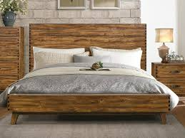 platform bed with nightstand. Nightstand For Platform Bed Lovely Sorrel Rustic Solid Wood By Homelegance Usa Furniture With