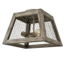 Bird Ceiling Light Fixture Rustic Distressed Wood Ceiling Light Fixture Flush Mount
