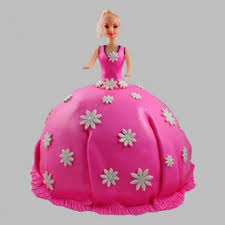 Pink Delight Barbie Cake Pink Delight Barbie Cake Is A Fondant And