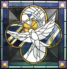 stained glass religious new contemporary abstract modern studios inc one of many windows for our lady the isle church grand window designs