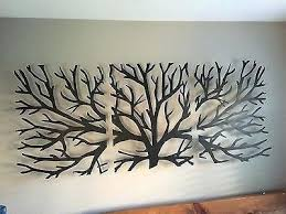 wooden tree wall art new sculpture wall art metal decor modern black wooden stained varnished interior