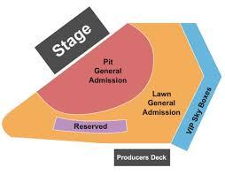 Artpark Amphitheatre Tickets In Lewiston New York Seating