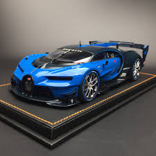 Shop with afterpay on eligible items. Autoart 1 18 Bugatti Vision Gt Turismo Vgt Model Car Vehicles Collection Blue 674110709865 Ebay