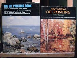 if i had a million dollars and could any book on landscape painting in the world but i could only own two here are the two books i would have