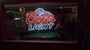 Coors Light Billiard Light