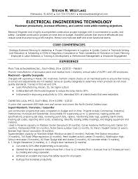Electrical Engineering Resume Free Resume Example And Writing