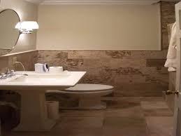 image of simple bathroom wall tile ideas