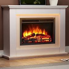 electric fireplaces suites awesome castleton fireplace suite endeavour fires and for 10