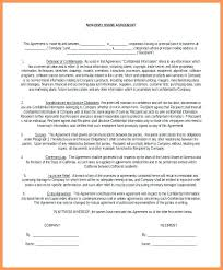Free Nda Template 9 International Non Disclosure Agreement Template Contract