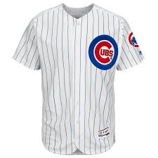 Majestic Baseball Jersey Size Chart Chicago Cubs Authentic Flexbase Home Jersey By Majestic