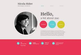 resume web templates 15 best free online resume cv website templates and themes