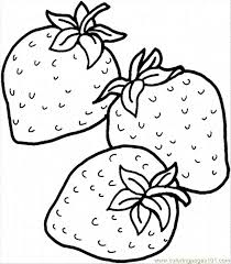 Strawberry 16 Coloring Page Free Strawberry Coloring Pages