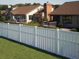 vinyl fence panels. Yard Vinyl Fencing Panels Fence