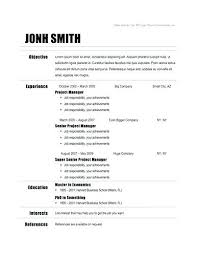 Make Resume Free Fascinating Chronological Resume Template Microsoft Word Free Chronological