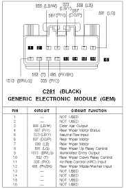 wiring diagram 2003 ford explorer radio wiring diagram stereo for 1995 ford explorer speaker wire colors at 96 Explorer Radio Wire Diagram