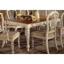 antique white dining room sets. Hillsdale Furniture Wilshire Rectangle Dining Table With Two 18\ Antique White Room Sets
