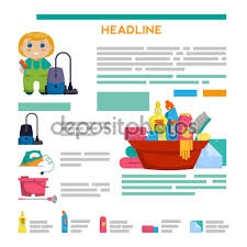 template design vector brochure cleaning service stock vector template design vector brochure cleaning service stock vector 103396316