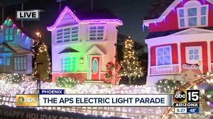 Aps Electric Light Parade Tonight The 32nd Annual Aps Electric Light Parade