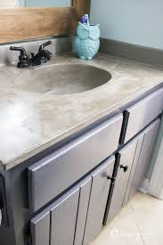 you can update your bathroom vanity without spending a fortune this diy vanity update using