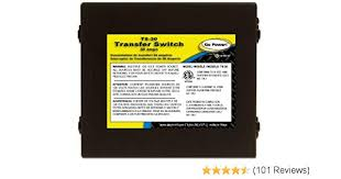 amazon com go power ts 30 30 amp automatic transfer switch automotive