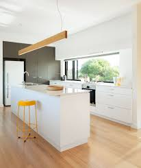 White bench top and cabinets joinery kitchen archiblox kitchens
