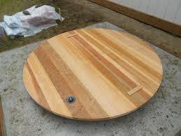 wood stage hot tub pad