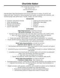 Sample Resumes For Retail Customer Service Representative Resume ...