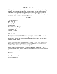 Unique Follow Up Letter After Application How To Format A Cover