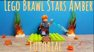 Lego Brawl Stars AMBER tutorial - YouTube