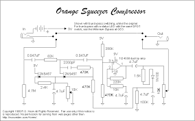 geo s effects schematics a plug in the guitar compressor