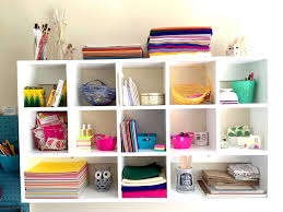using cubby shelves for craft room organization easy diy tutorial with free printables