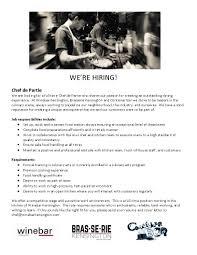 Careers Winebar Kensington Calgary Alberta