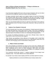 proper essay format english introduction example sample ielts apa   how to write an essay introduction by the uni tutor vishal p introduction sample essay essay