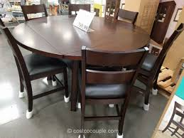 bayside furnishings 7 piece counter height round dining set throughout table sets costco prepare 8