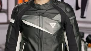 dainese women s veloster leather jacket review at revzilla com