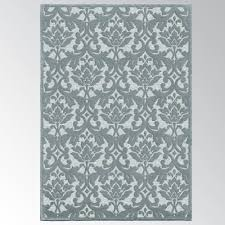 damask area rug devonshire slate blue traditional rugs brown chenille by machine washable chevron leopard