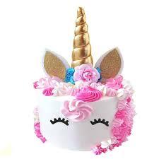 Unicorn Birthday Party Decorations Unicorn Cake Topper Vcdiy