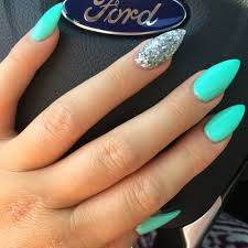 Image Result For Summer Neon Nails Nehty Uñas Azules Uñas Menta