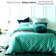 blue velvet duvet cover blue velvet duvet cover glacier mist green cotton dark b blue velvet