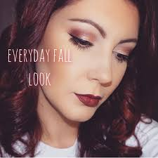grwm everyday fall makeup look using the lorac unzipped palette you