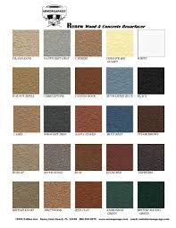 Cool Deck Paint Color Chart 1 Spray Deck Color Chart Spray Deck Color Chart